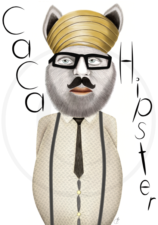 Caca Hipster
